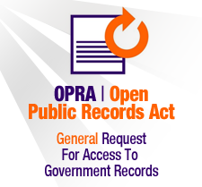 OPRA Public Records Form